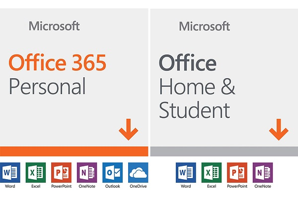 What's the difference between Microsoft 365 and Office 2019
